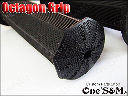 A-EX-9 八角グリップ 22.2 GS400 GT380 GSX400FS GSX250E GSX400E GSX400インパルス イナズマ/Inazuma バンディット250 ザリ ゴキ GSX250S GSX400S 刀 GSX-R400