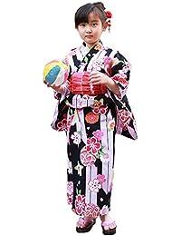 5a681d82dd80d Amazon.co.jp  ブリリアントピース - 着物・浴衣   ガールズ  服 ...