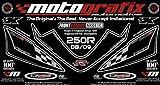 MOTOGRAFIX(モトグラフィックス) ボディーパッド KAWASAKI NINJA250R(08-12) FRONT ブラック/グレー MT-NK011K