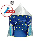 """USA Toyz Kids Play Tent - """"Rocket Ship"""" Kids Tent for Girls and Boys + Playhouse Tent Toddler Toys Projector for Indoor Tent or Outdoor Tent Fun [並行輸入品]"""