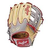 ローリングス(Rawlings) 野球用 軟式 HYPER TECH R2G COLORS [オールフィルダー用] サイズ11.75 GR1HTCN55W キャメル/グレー サイズ 11.75 ※左投用