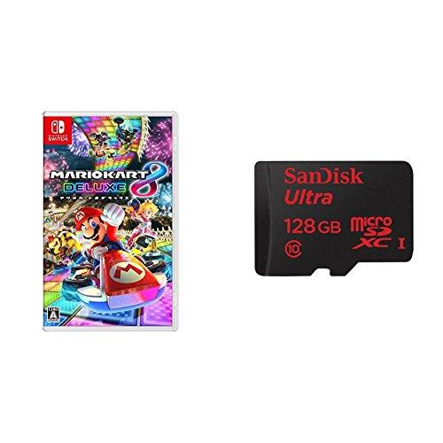 マリオカート8 デラックス + microSDXCカード(128GB) セット - Switch...