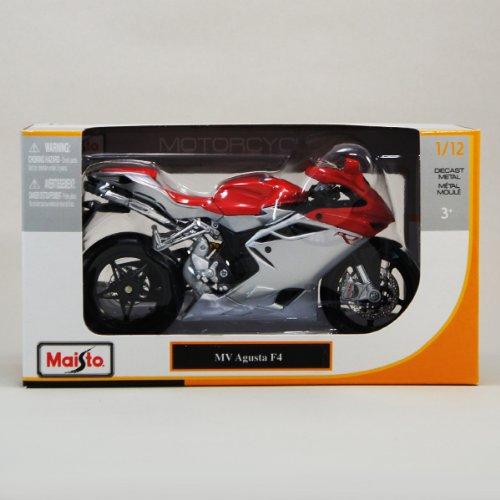 MVアグスタ 1/12 Maisto MV Agusta F4 バイク/マイスト/SportsBike/スポーツバイク/オンロード/1:12/赤/レッド/