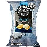 Red Rock Deli Sea Salt Potato Chips, 12 x 165 Grams