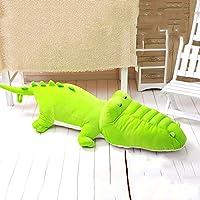 QFFL baozhen クッションかわいい快適な幼児ぬいぐるみ動物の綿の人形のおもちゃの枕4色の使用可能 (色 : Light green, サイズ さいず : 1m)