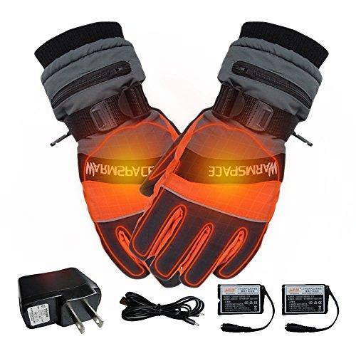 Fastar 電熱インナーグローブ 充電式 内蔵 発熱 防風...