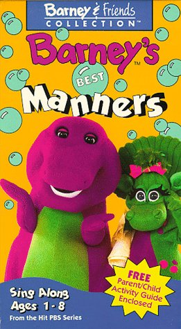 Barney - Barney's Manners [VHS] [Import]