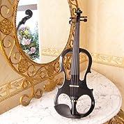 電子バイオリン入門セット ワインレッド