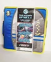 Case it The Mighty Zip Tab 2.0 3リング 容量3インチ バインダー (D-159-P) ブルー グレー