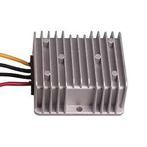 DC 12V~24V 自動車直流コンバータ ブースター変圧器 ナビゲーションコンバーター 変換器 密封防水 電圧変換器 トロリー、自動車等で12V車用のドレスアップパーツ、カーナビ、オーディオが使用可能です。入力12V (昇圧10A/240W) HitCar製