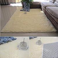 長いベルベットのカーペットリビングルームのベッドルームのコーヒーテーブルベイウィンドウのクッションかわいい床マットの長方形 (色 : B, サイズ さいず : 200 * 250cm)