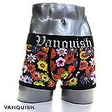 VANQUISH(ヴァンキッシュ) FLOWER ボクサーパンツ vuw073 M マルチ