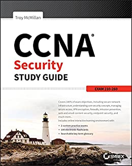 CCNA Security Study Guide: Exam 210-260 by [McMillan, Troy]