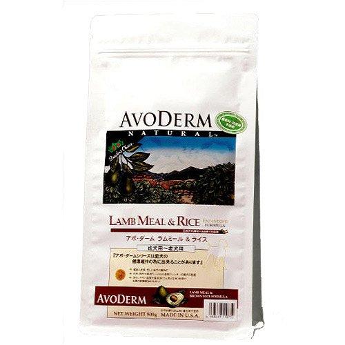 アボ・ダーム (AVODERM) ラムミール&ライス 2.4kg