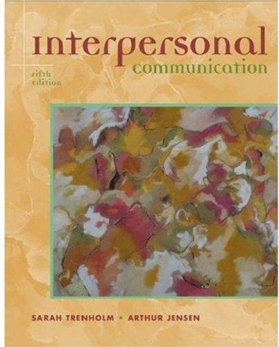 Download Interpersonal Communication 0195170741