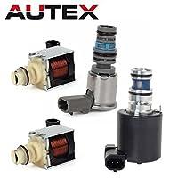 AUTEX 4T65E Automatic Transmission Master Solenoids Shift EPC TCC Kit for Chevrolet GM 1997-2002 [並行輸入品]