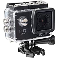 SJCAM 正規品 SJ4000 ウェアラブルカメラ 2017年改良版 2.0インチ液晶 スポーツカメラ FHD 1080P ブラック