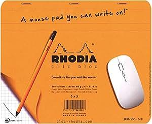 ロディア クリックブロック マウスパッド 方眼罫 cf194100