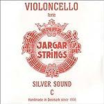 Jargar 4/4 Cello C String Thick(Forte) Silver 【TEA】 [並行輸入品]