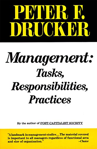 Management: Tasks, Responsibilities, Practicesの詳細を見る