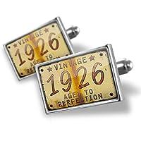 カフスボタンVintage Year 1926年生まれ/ Made–ブロンド