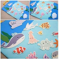 Korea Toy - Sea friends hard paper 802 color