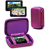 Navitech Purple GPS/Satellite Navigation Hard Carry Case Cover for The Tomtom GO Professional 620