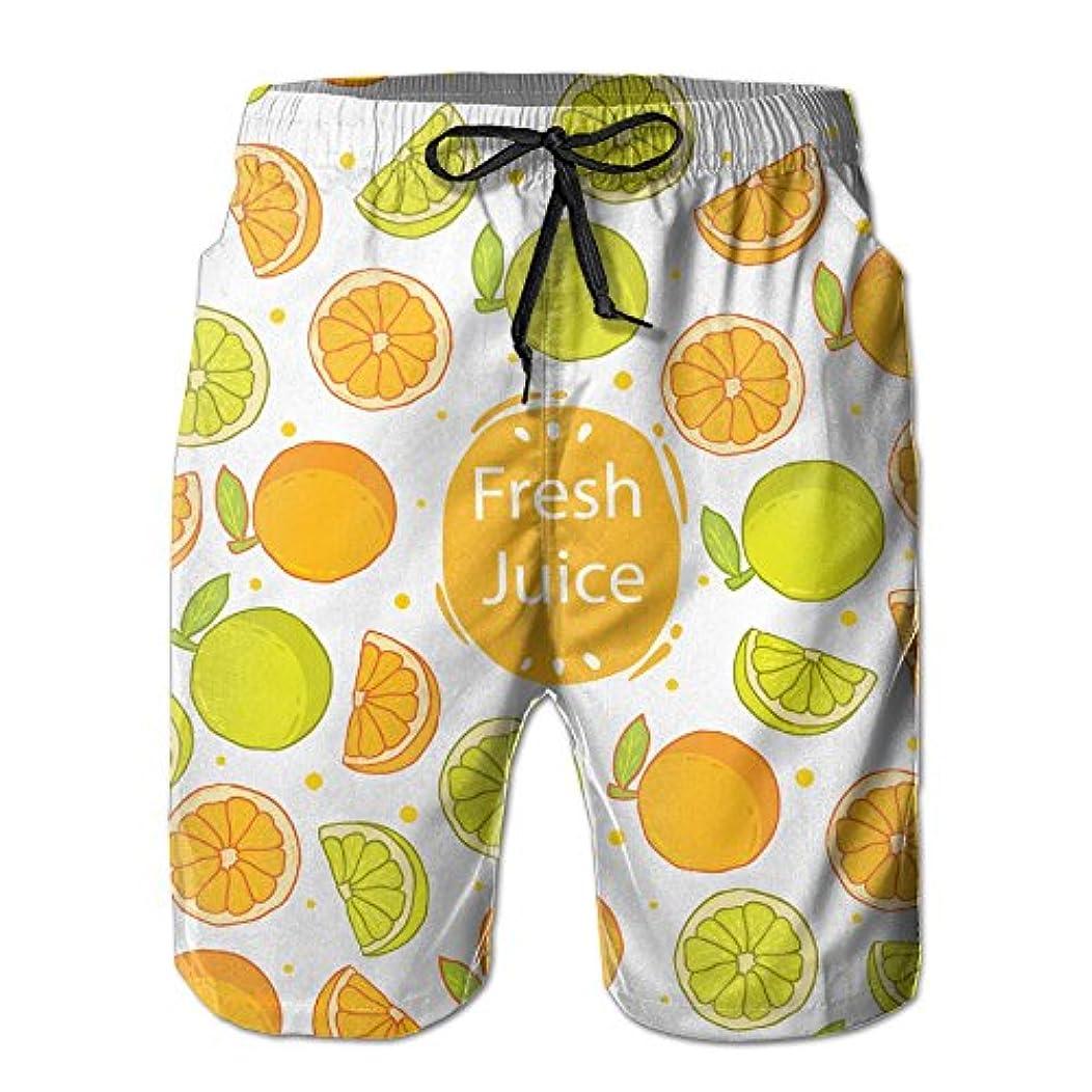 送ったそしてパイオレンジ 紳士のファッションと快適のビーチショーツ スイムショーツ メッシュインナー 通気 速乾 ビーチズボン 海水パンツ ショートパンツ