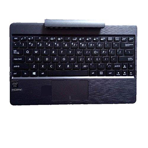 『ノートキーボードに適用される ASUS Transformer Book T100 T100CHI T100HA T100TA T100TAF T100TAL T100TAM T100TAR 黒い US English英語のLaptop keyboard』のトップ画像