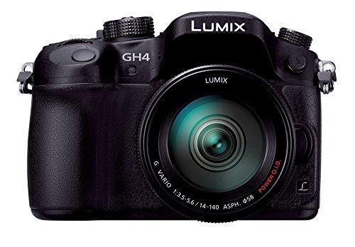 Panasonic ミラーレス一眼カメラ ルミックス GH4 レンズキット 標準ズームレンズ付属 ブラック DMC-GH4H-K