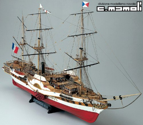 1169 輸入木製帆船模型 マモリ社 MV23 ロレノク