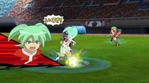 『イナズマイレブンGO ストライカーズ 2013 早期購入者特典 神童&霧野「ペアキャラストラップ」付き - Wii』の2枚目の画像