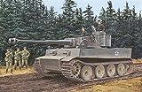 プラッツ 1/35 第二次世界大戦 ドイツ軍 ティーガーI 極初期型 第502重戦車大隊 レニングラード1943年 (3イン1) プラモデル DR6252