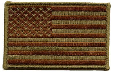 "The Green US Army PATCH, by: ""Flag-It"" The Most Trusted Brand, Superior Quality Iron-On / Saw-On Embroidered Patches - Each patch is carded & packaged individually in a professional retail package - 3.5"" x 2.25"" Inches - Made in the USA"