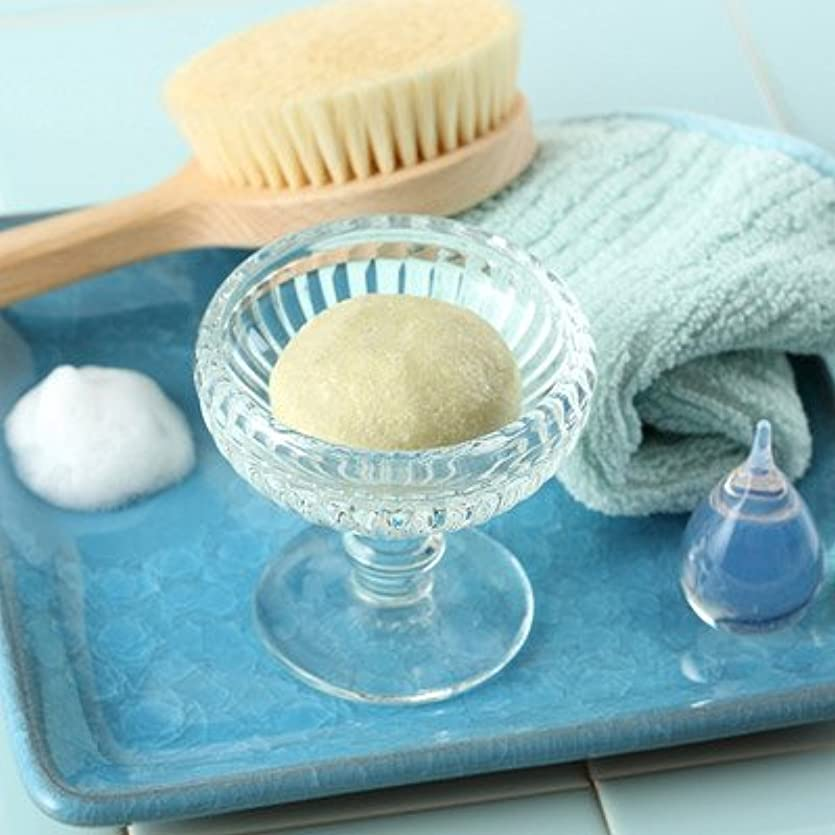 わずかにちなみにホバー敏感肌の方にも安心してお使いいただける石鹸 玉川小町「シルクと白樺の無添加手練り石けん(極)80g」