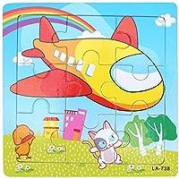 Domybest 木製 キッズ 子供 立体パズル オモチャ 人気 積み木 男の子 女の子 玩具 DIY 9個 パズル 創意プレゼント