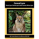 Caracal Lynx: Desert Lynx, Persian Lynx, Asian Caracal, African Lynx (Species Spotlight Book 1) (English Edition)