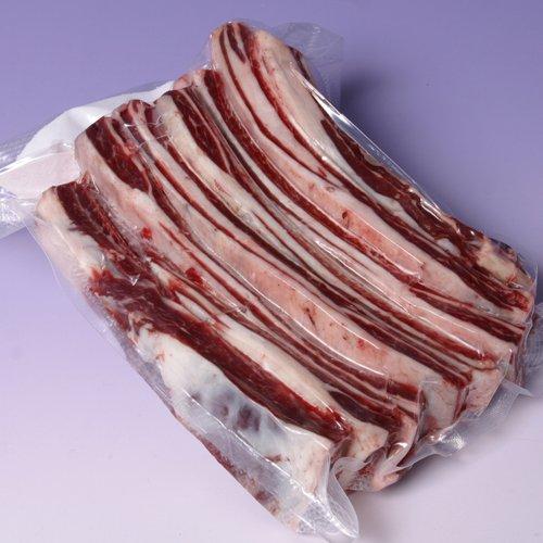 【北海道食美楽】ヘルシー鹿肉 スペアリブ(1kg)