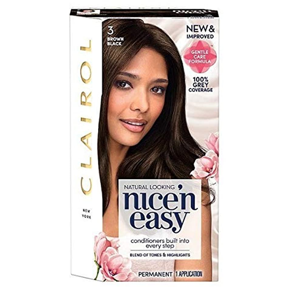 結婚したバンドルライン[Nice'n Easy] 黒茶色のNice'N簡単3 - Nice'n Easy 3 Brown Black [並行輸入品]
