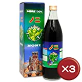 沖縄県産果汁100%ノニジュース 900ml 3本セット