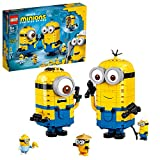 LEGO Minions 75551 Brick-Built Minions and Their Lair Building Kit (876 Pieces)