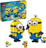 LEGO Minions Brick-Built Minions and Their Lair 75551 Building Kit
