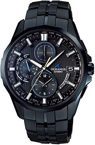 [カシオ]CASIO 腕時計 OCEANUS Manta Deep Blue DLC Edition 世界6局対応電波ソーラー OCW-S3000BL-1AJF メンズ