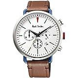 ポールスミス Paul Smith 時計 腕時計 メンズ ウォッチ クロノグラフ Cycle Chronograph サイクルクロノグラフ ホワイト BR1-714-50