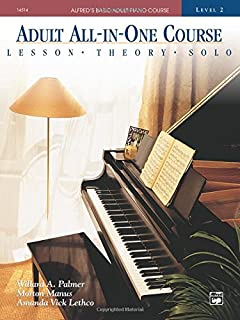 Adult All-In-One Piano Course: Level 2: Lessons - Theory - Solo (Alfred's Basic Adult Piano Course) (0882849956) | Amazon price tracker / tracking, Amazon price history charts, Amazon price watches, Amazon price drop alerts