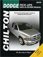 Chilton's Dodge Pick-ups 2002-2005 (Chilton's Total Car Care Repair Manual)