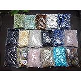 浄化用さざれ石17種類(各100g) 1700g  クリスタル・ローズクォーツ・オブシディアン・ラピスラズリ等 ミックス石 天然石 パワーストーン