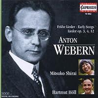 ヴェーベルン:声楽作品集