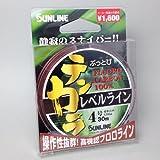サンライン(SUNLINE) ぶっとびテンカラレベルライン 30m (4.0号)