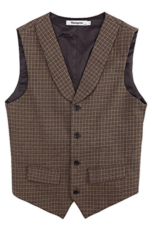 Hanayome ベスト スーツフォーマル 子供服 スーツ 男の子 襟付き 4ツボタン 紳士服 ジュニア ボーイズ 七五三 VS28